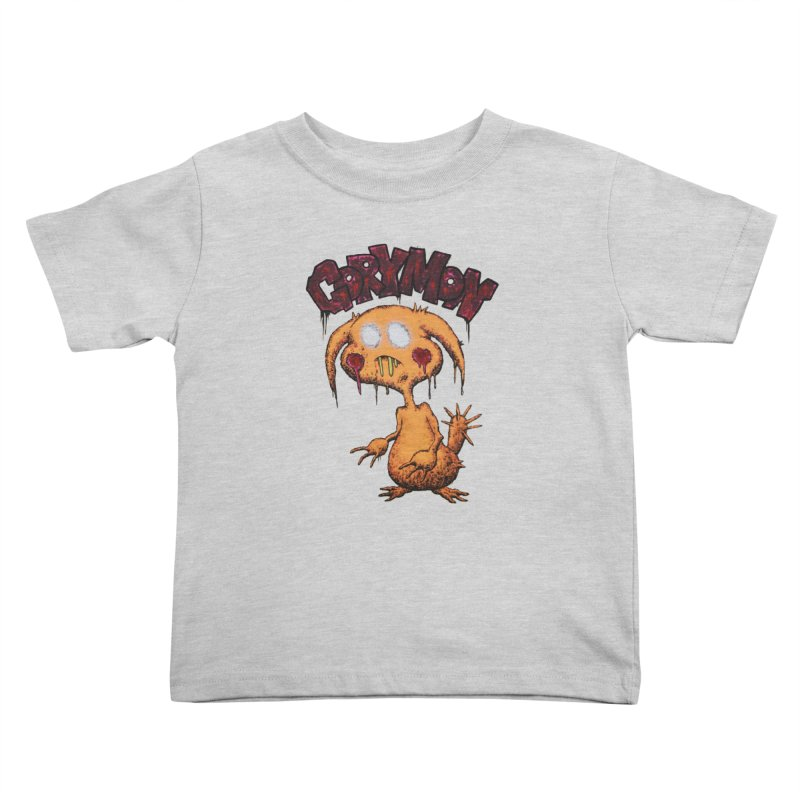 Pikachu's Ugly Sister - Gorymon Kids Toddler T-Shirt by pesst's Artist Shop