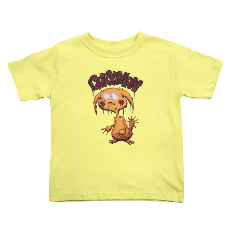 Pikachu's Ugly Sister - Gorymon Kids Toddler T-Shirt by pesst's Artist Shop