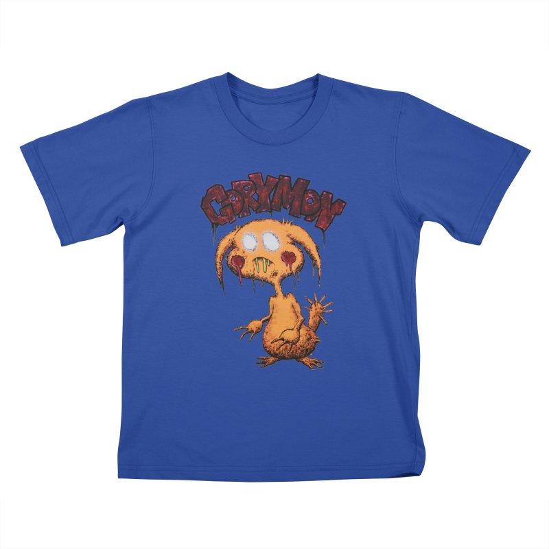 Pikachu's Ugly Sister - Gorymon Kids T-Shirt by pesst's Artist Shop