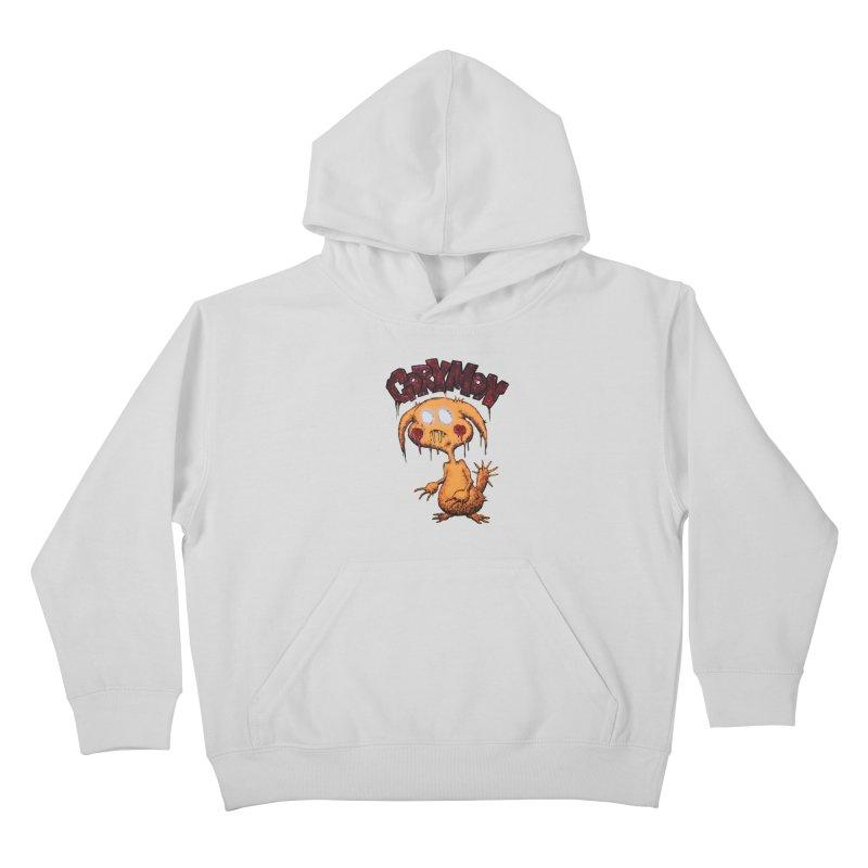 Pikachu's Ugly Sister - Gorymon Kids Pullover Hoody by pesst's Artist Shop
