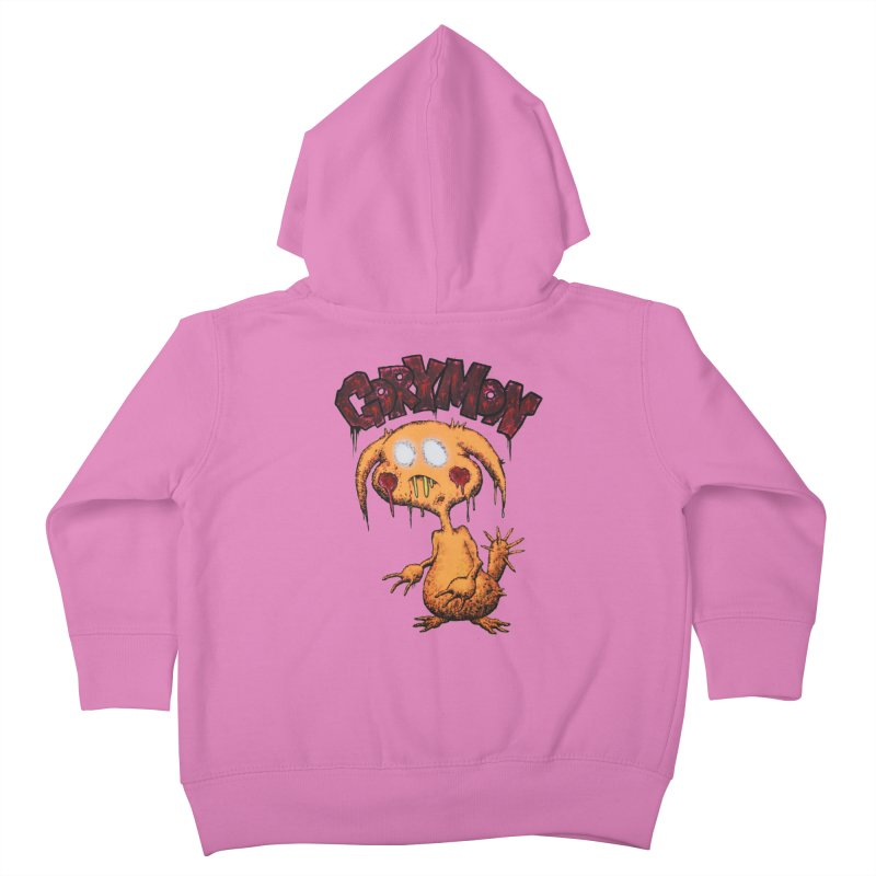 Pikachu's Ugly Sister - Gorymon Kids Toddler Zip-Up Hoody by pesst's Artist Shop