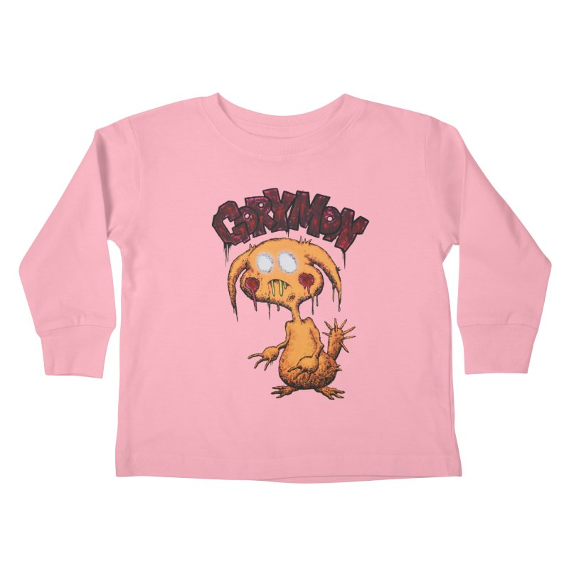 Pikachu's Ugly Sister - Gorymon Kids Toddler Longsleeve T-Shirt by pesst's Artist Shop