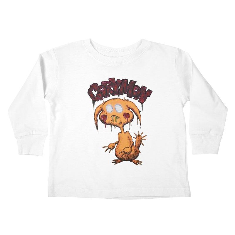 Pikachu's Ugly Sister - Gorymon Kids Toddler Longsleeve T-Shirt by pesst's Artist Shop