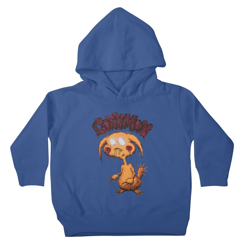Pikachu's Ugly Sister - Gorymon Kids Toddler Pullover Hoody by pesst's Artist Shop