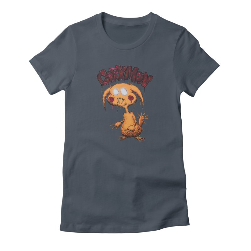 Pikachu's Ugly Sister - Gorymon Women's T-Shirt by pesst's Artist Shop