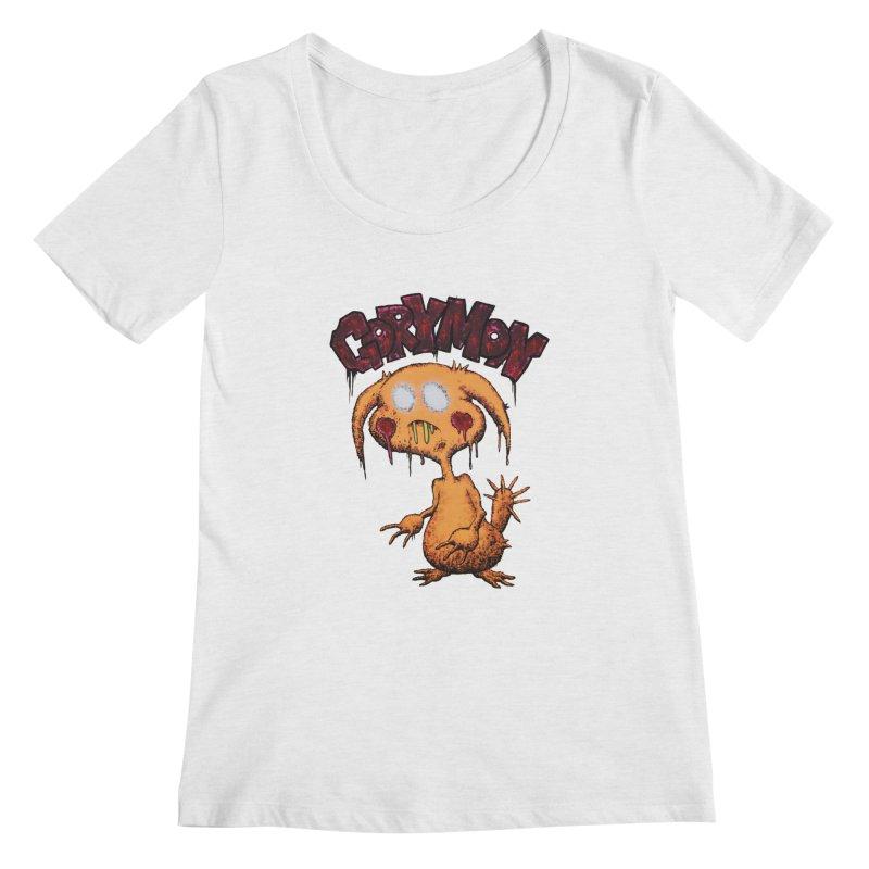 Pikachu's Ugly Sister - Gorymon Women's Regular Scoop Neck by pesst's Artist Shop