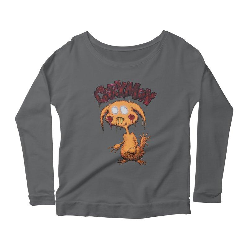 Pikachu's Ugly Sister - Gorymon Women's Scoop Neck Longsleeve T-Shirt by pesst's Artist Shop