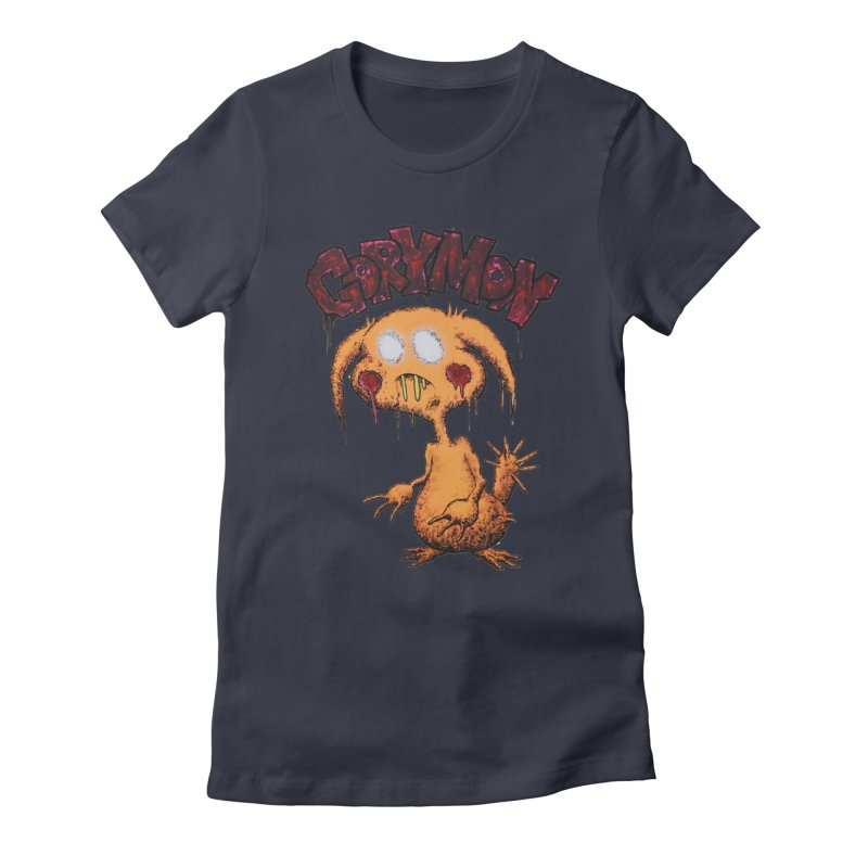 Pikachu's Ugly Sister - Gorymon Women's Fitted T-Shirt by pesst's Artist Shop
