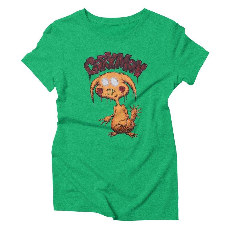 Pikachu's Ugly Sister - Gorymon Women's Triblend T-Shirt by pesst's Artist Shop