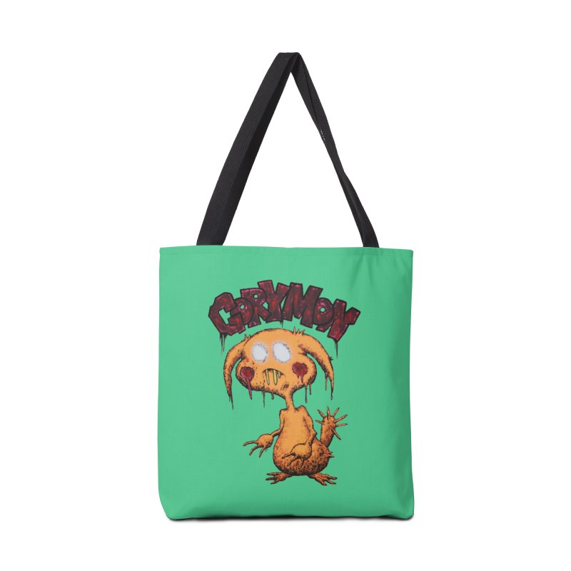 Pikachu's Ugly Sister - Gorymon Accessories Tote Bag Bag by pesst's Artist Shop