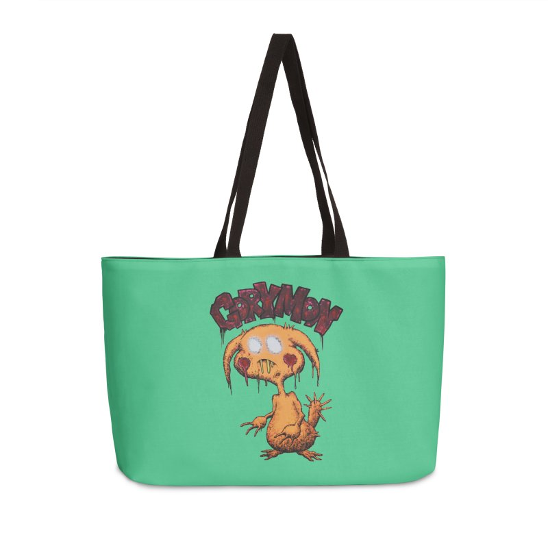 Pikachu's Ugly Sister - Gorymon Accessories Weekender Bag Bag by pesst's Artist Shop