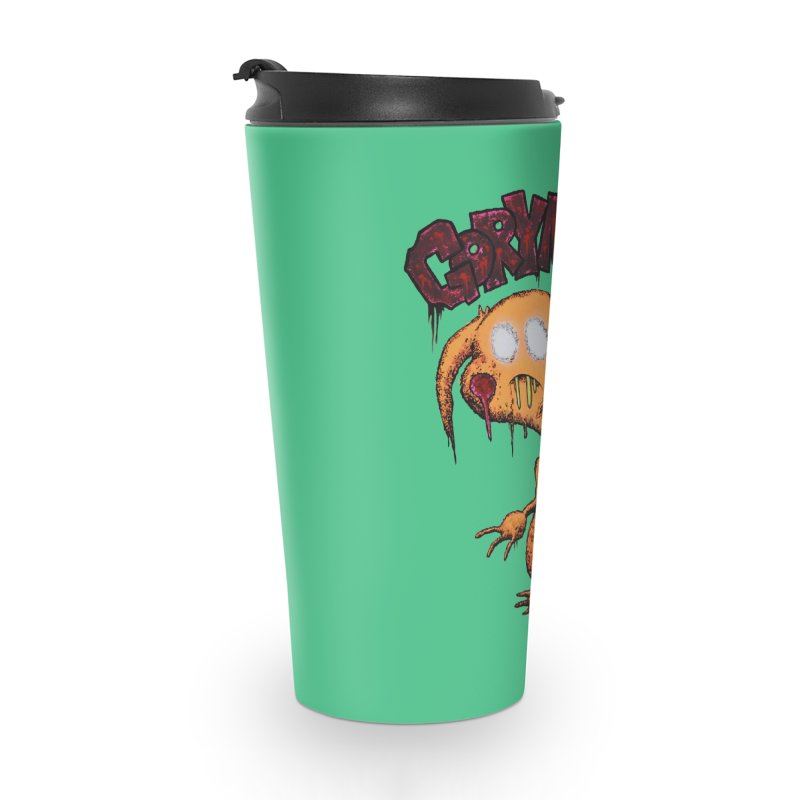 Pikachu's Ugly Sister - Gorymon Accessories Travel Mug by pesst's Artist Shop