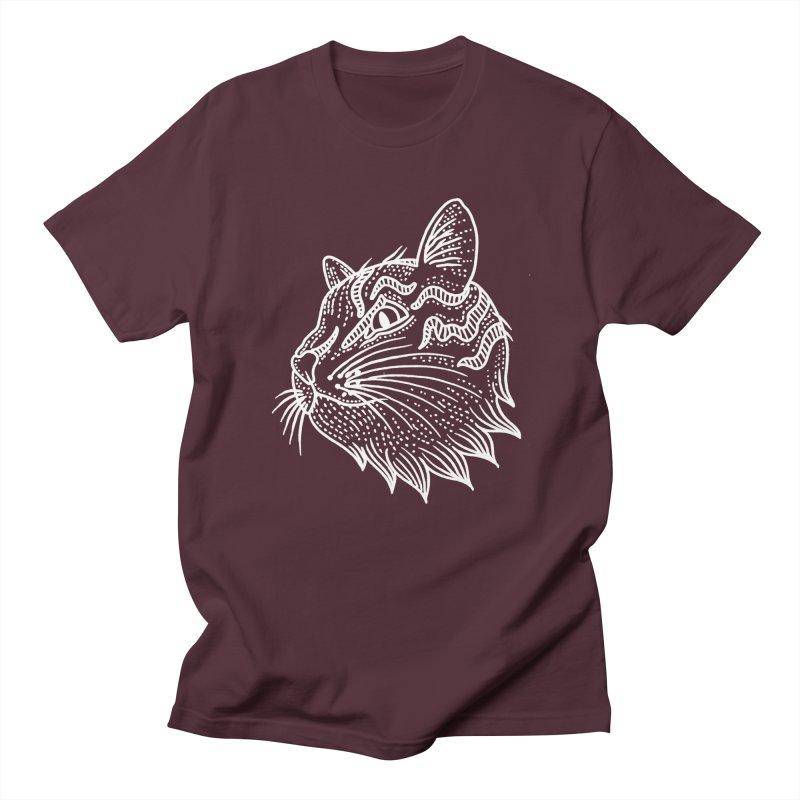Smart Kitty Women's Regular Unisex T-Shirt by pesst's Artist Shop