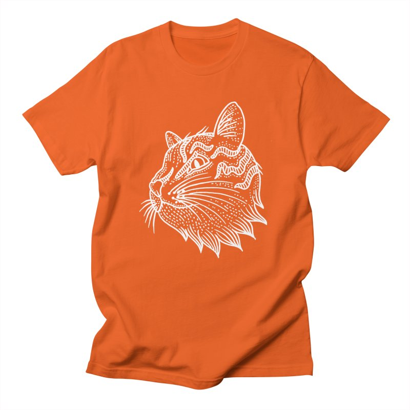 Smart Kitty Women's Regular Unisex T-Shirt by pesst's Artist Shop