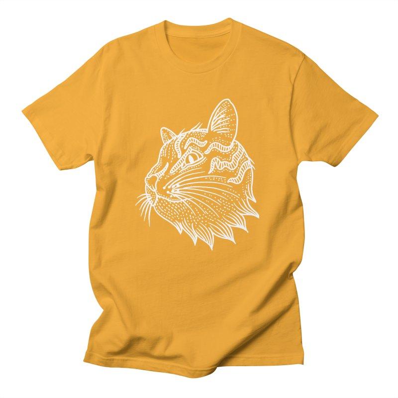 Smart Kitty Men's Regular T-Shirt by pesst's Artist Shop