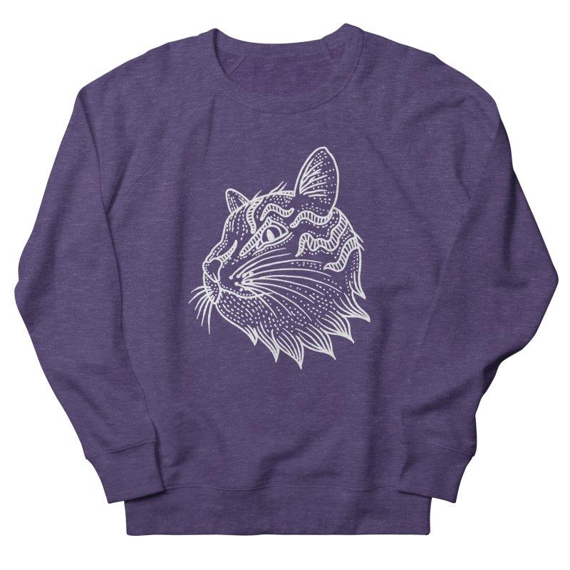 Smart Kitty Men's French Terry Sweatshirt by pesst's Artist Shop