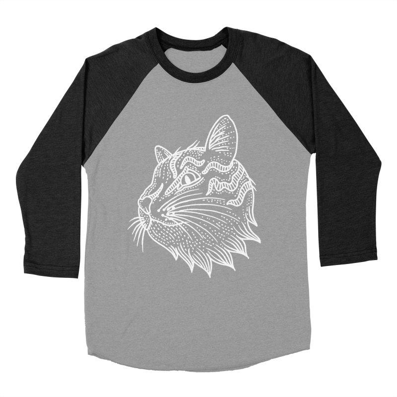 Smart Kitty Women's Baseball Triblend Longsleeve T-Shirt by pesst's Artist Shop
