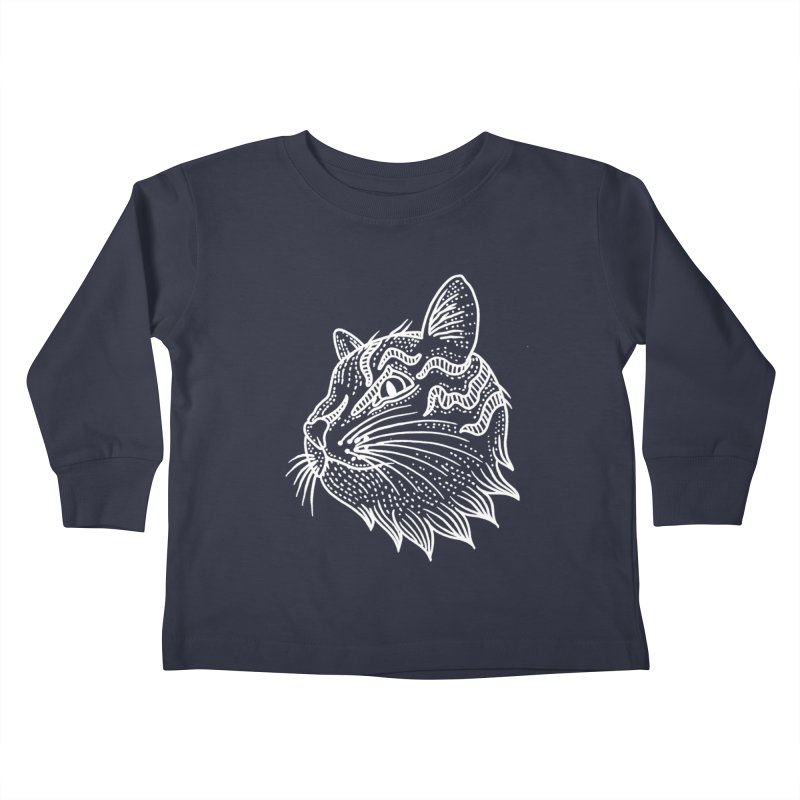 Smart Kitty Kids Toddler Longsleeve T-Shirt by pesst's Artist Shop