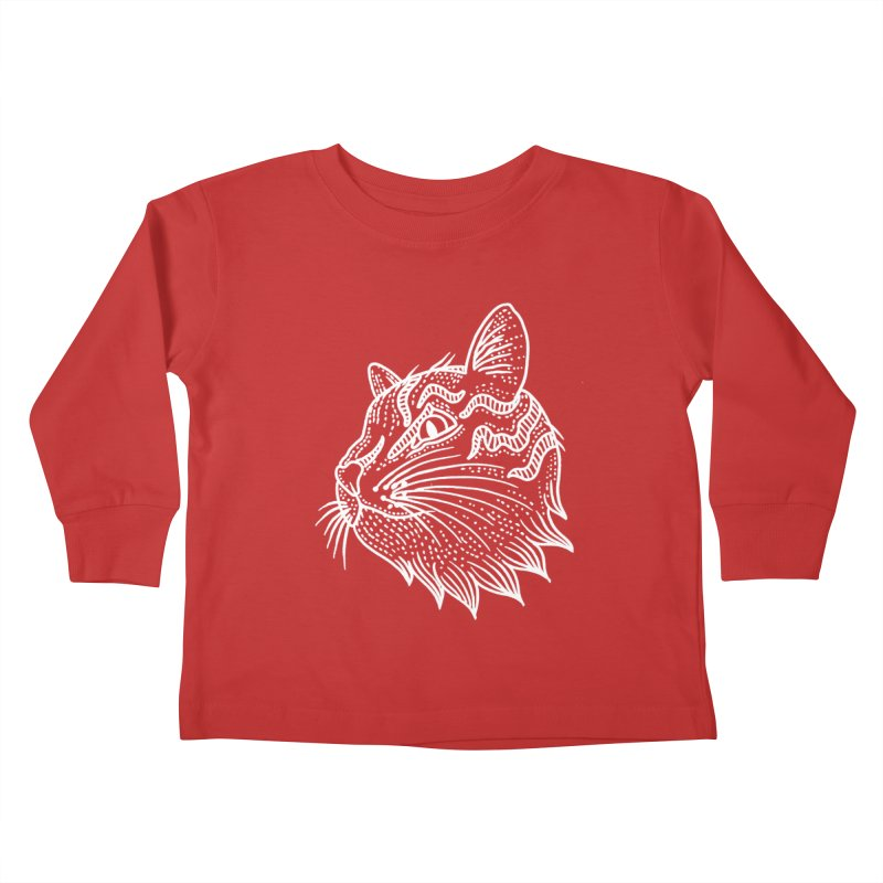 Smart Kitty Kids Toddler Longsleeve T-Shirt by pesst's Artist Shop