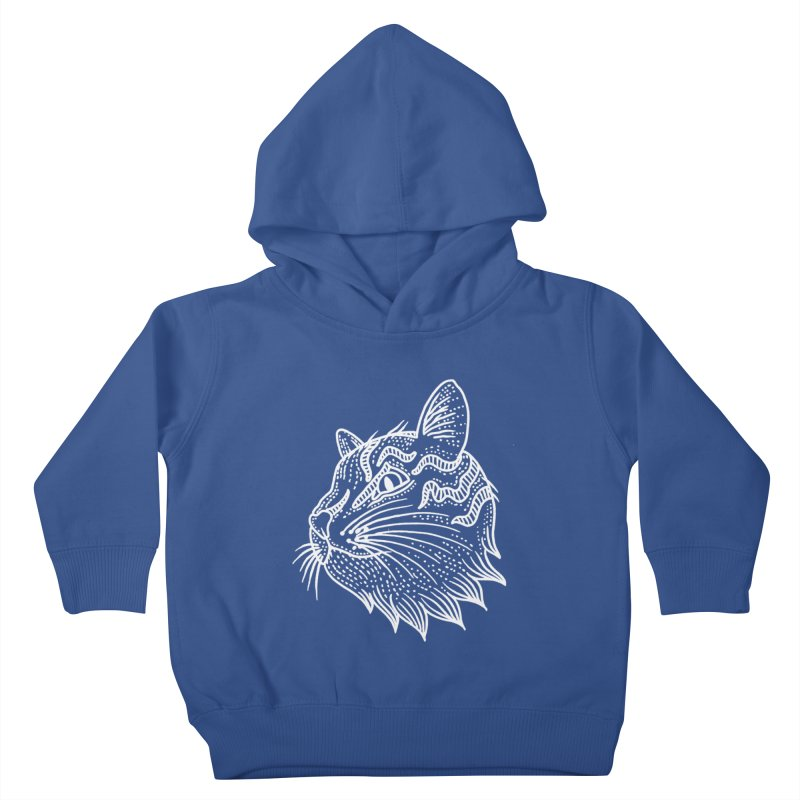 Smart Kitty Kids Toddler Pullover Hoody by pesst's Artist Shop