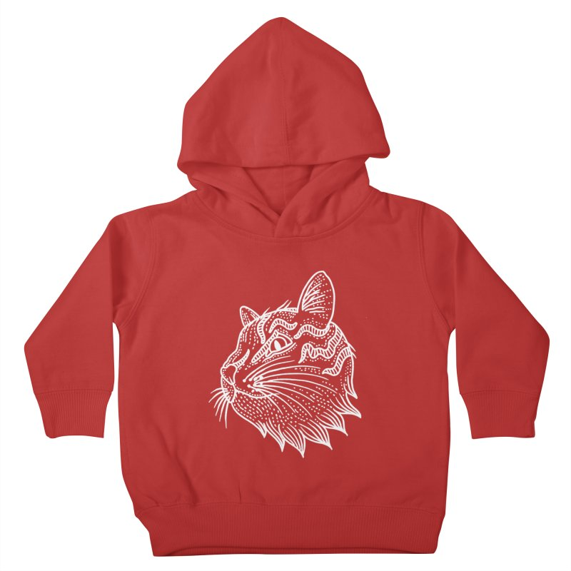 Smart Kitty Kids Toddler Pullover Hoody by pesst's Artist Shop