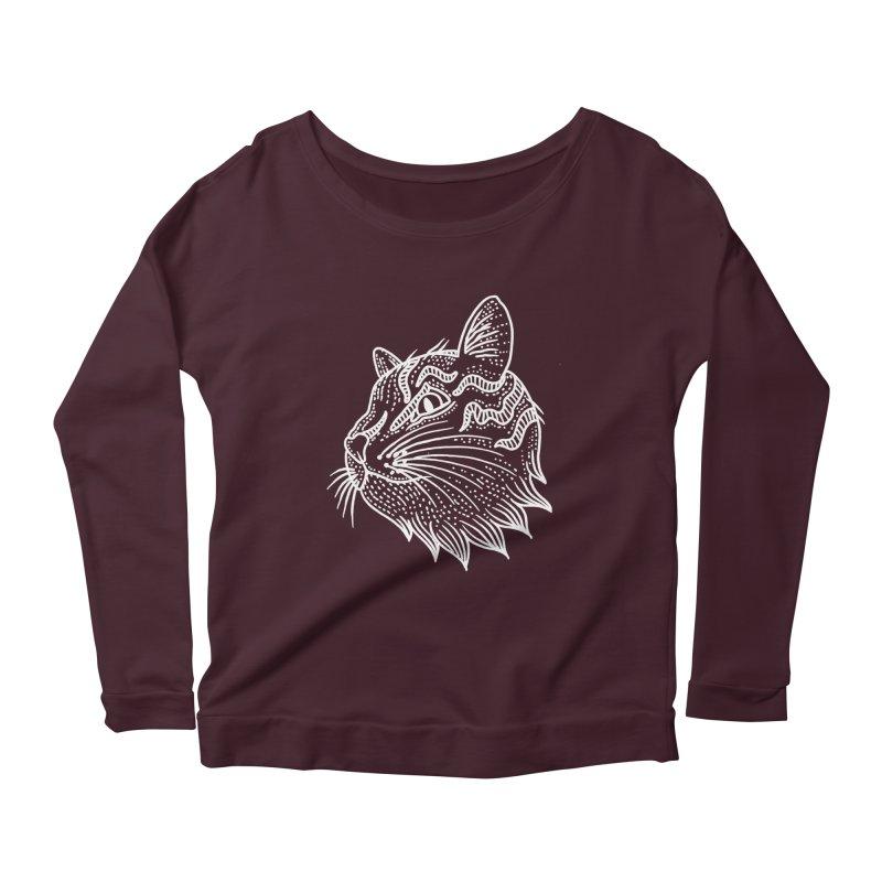 Smart Kitty Women's Longsleeve T-Shirt by pesst's Artist Shop