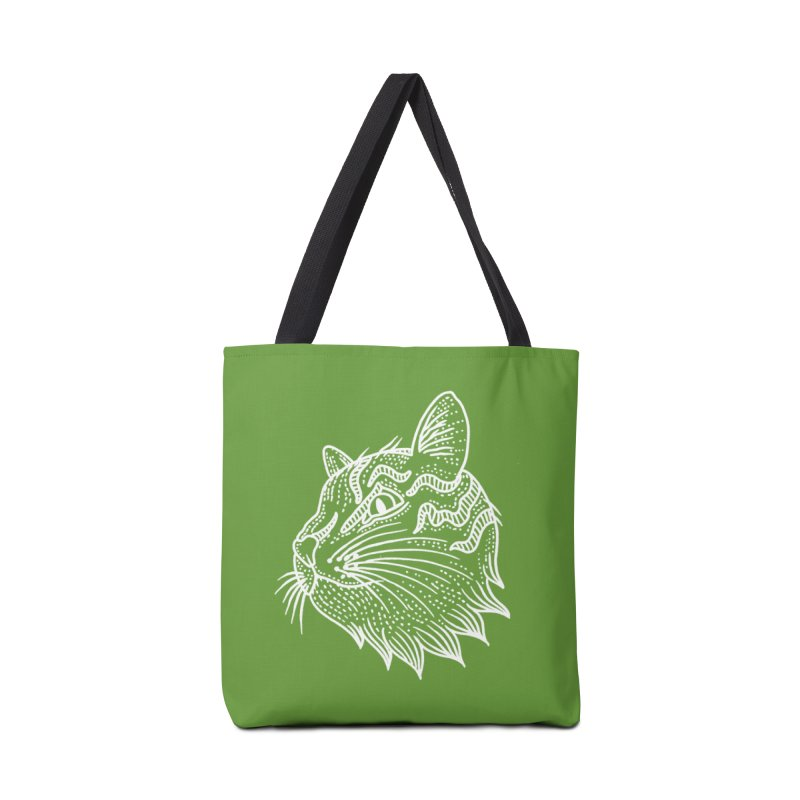 Smart Kitty Accessories Tote Bag Bag by pesst's Artist Shop