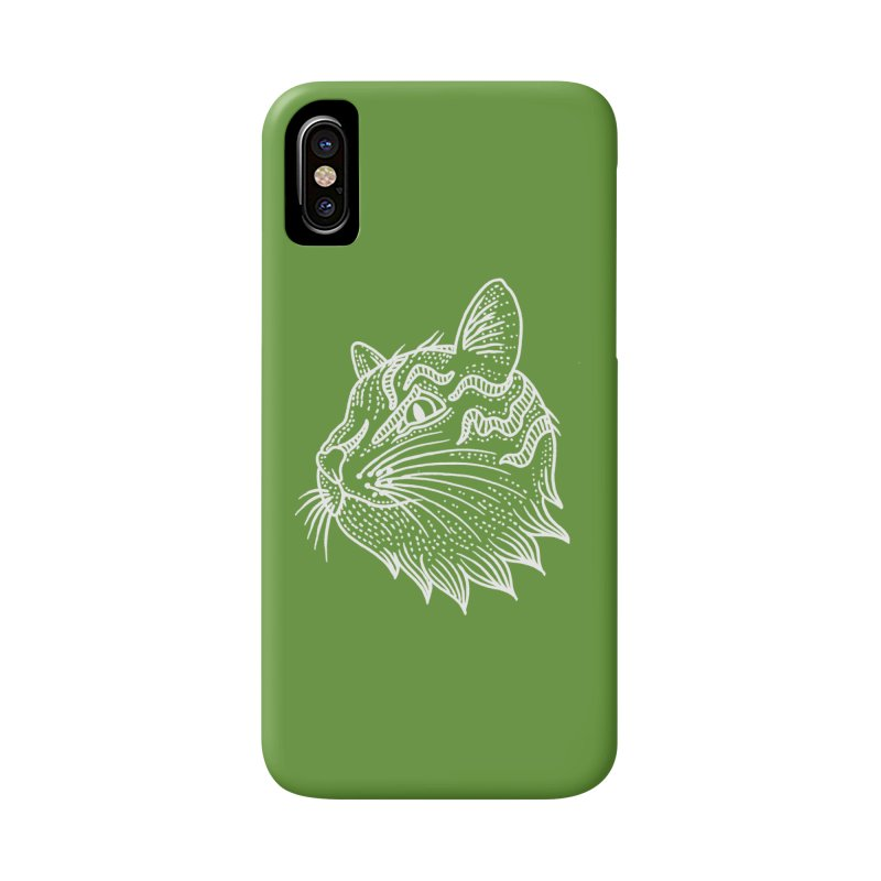 Smart Kitty Accessories Phone Case by pesst's Artist Shop