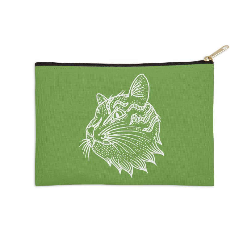 Smart Kitty Accessories Zip Pouch by pesst's Artist Shop
