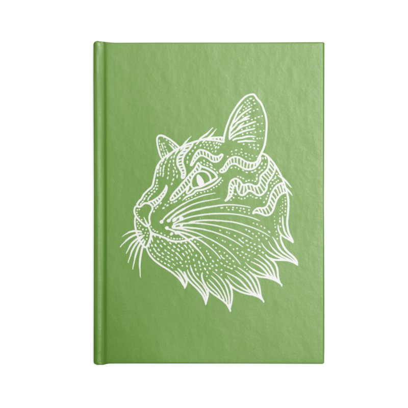 Smart Kitty Accessories Lined Journal Notebook by pesst's Artist Shop