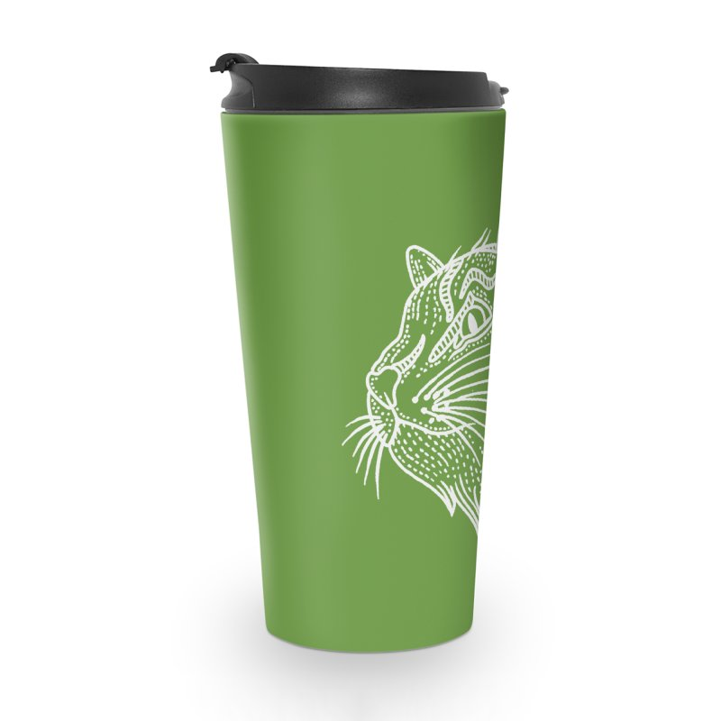 Smart Kitty Accessories Travel Mug by pesst's Artist Shop