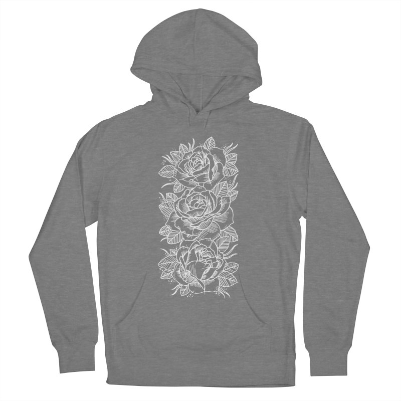 Negative Attitude Roses Women's French Terry Pullover Hoody by pesst's Artist Shop