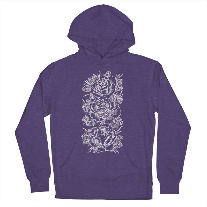 Negative Attitude Roses Men's French Terry Pullover Hoody by pesst's Artist Shop
