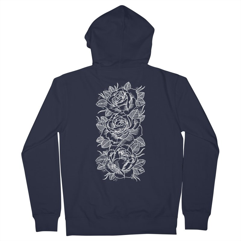 Negative Attitude Roses Women's Zip-Up Hoody by pesst's Artist Shop