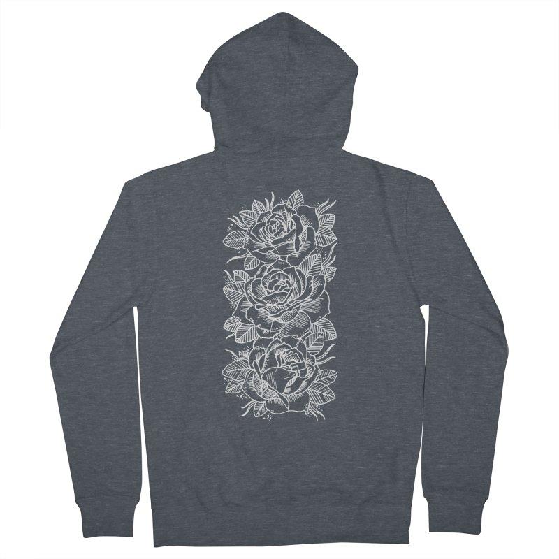 Negative Attitude Roses Men's Zip-Up Hoody by pesst's Artist Shop
