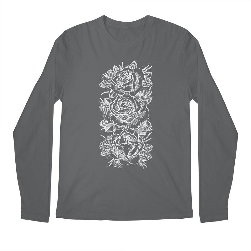 Negative Attitude Roses Men's Regular Longsleeve T-Shirt by pesst's Artist Shop