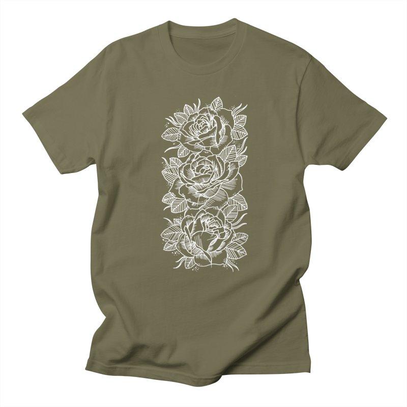 Negative Attitude Roses Men's Regular T-Shirt by pesst's Artist Shop