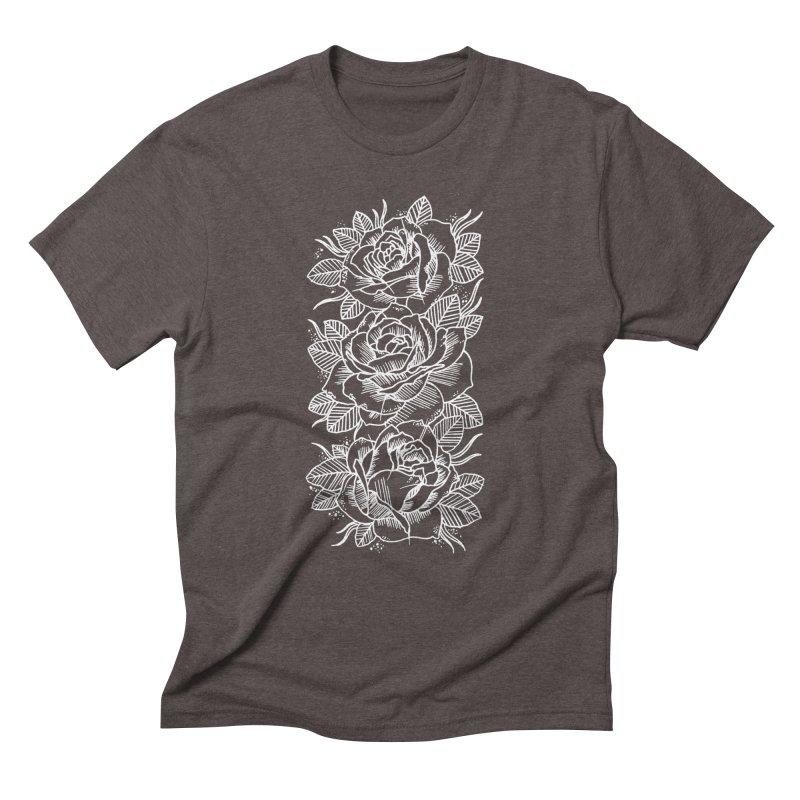 Negative Attitude Roses Men's Triblend T-Shirt by pesst's Artist Shop