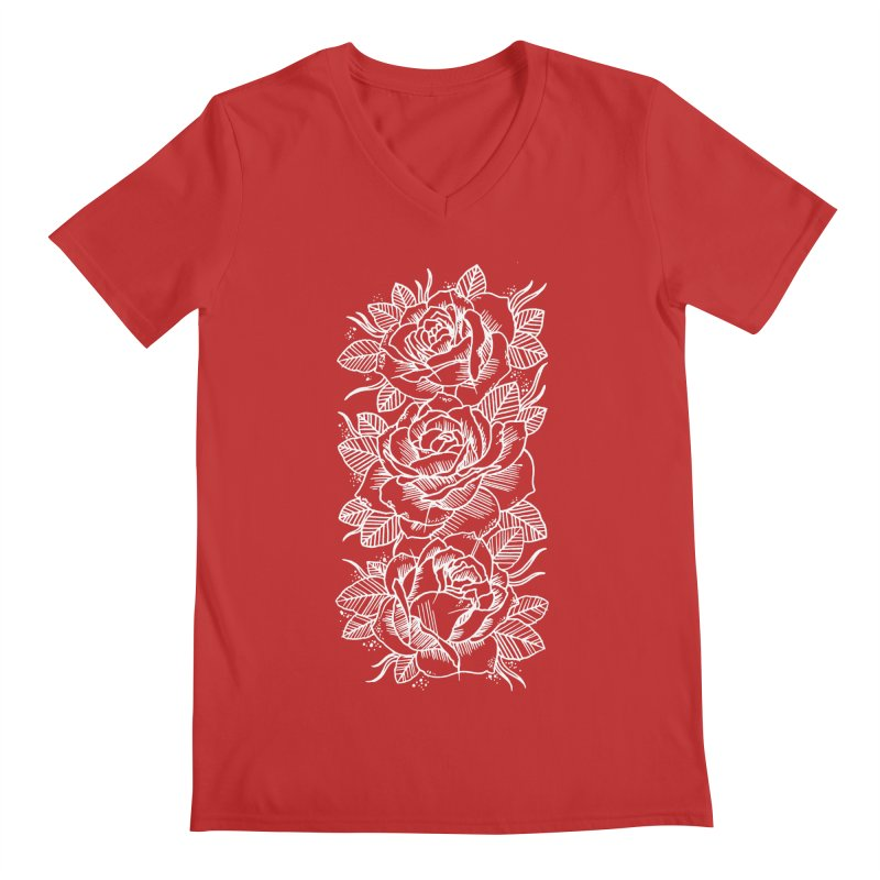 Negative Attitude Roses Men's Regular V-Neck by pesst's Artist Shop