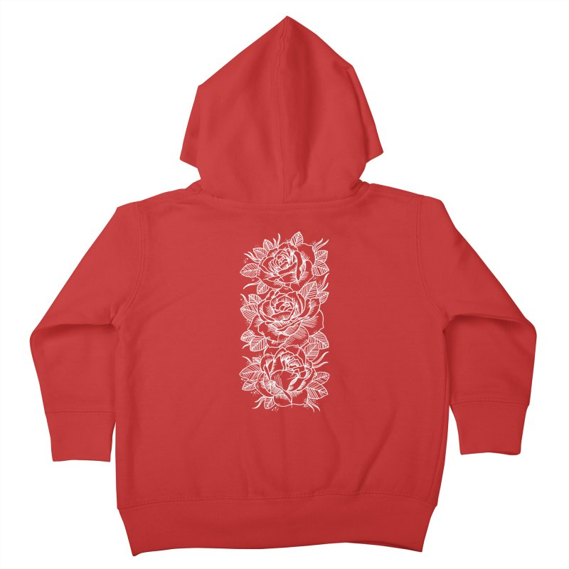 Negative Attitude Roses Kids Toddler Zip-Up Hoody by pesst's Artist Shop
