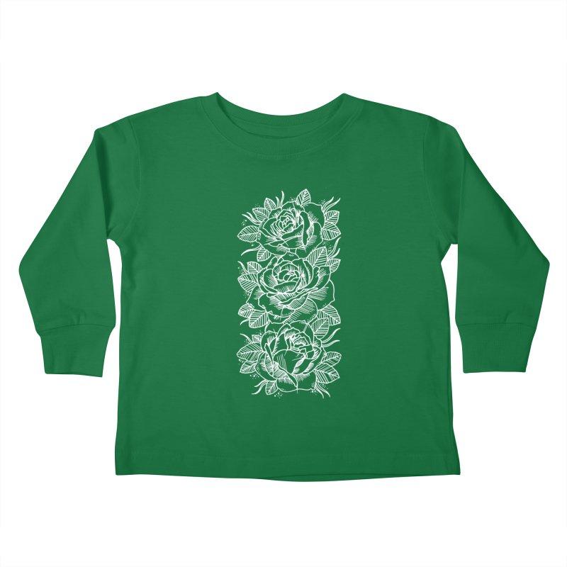 Negative Attitude Roses Kids Toddler Longsleeve T-Shirt by pesst's Artist Shop