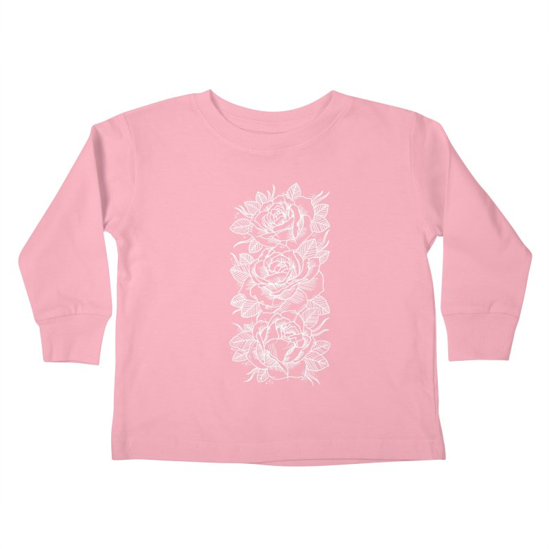 Negative Attitude Roses Kids Toddler Longsleeve T-Shirt by pesst's Artist Shop