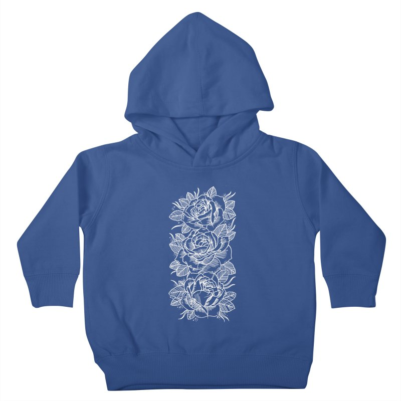 Negative Attitude Roses Kids Toddler Pullover Hoody by pesst's Artist Shop