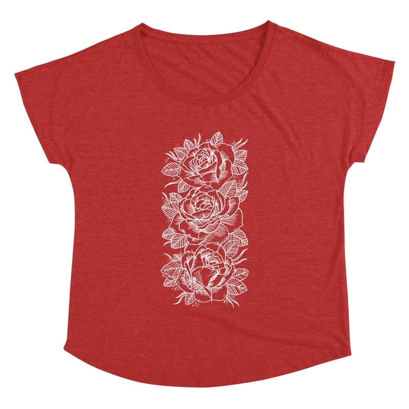 Negative Attitude Roses Women's Dolman by pesst's Artist Shop