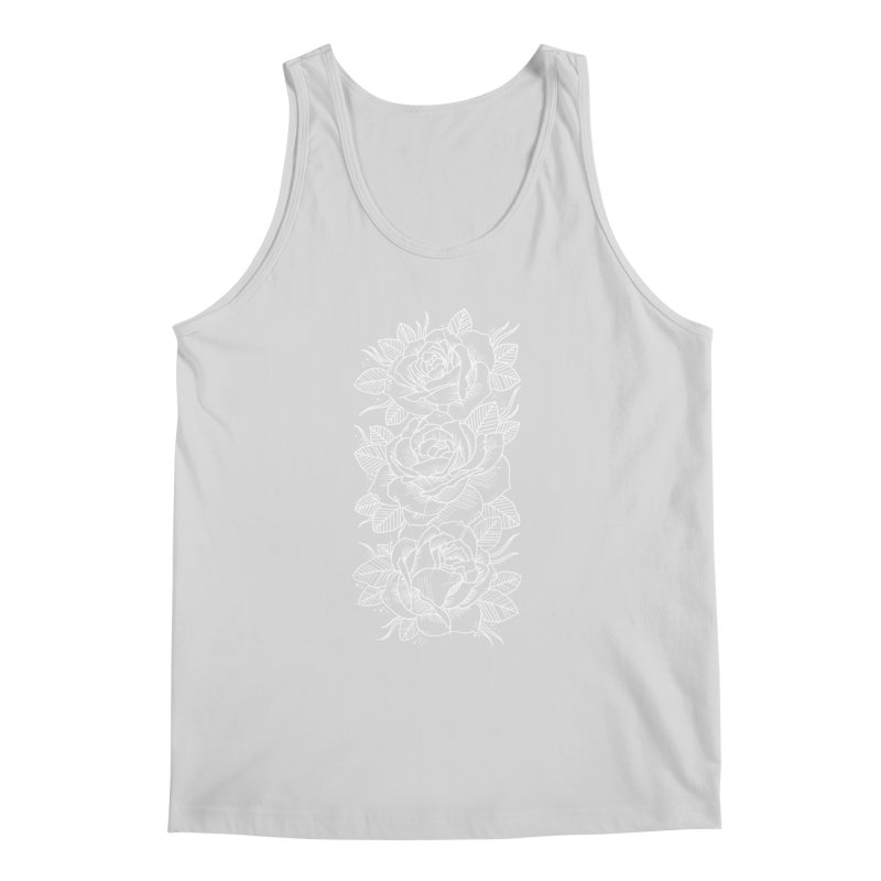Negative Attitude Roses Men's Regular Tank by pesst's Artist Shop
