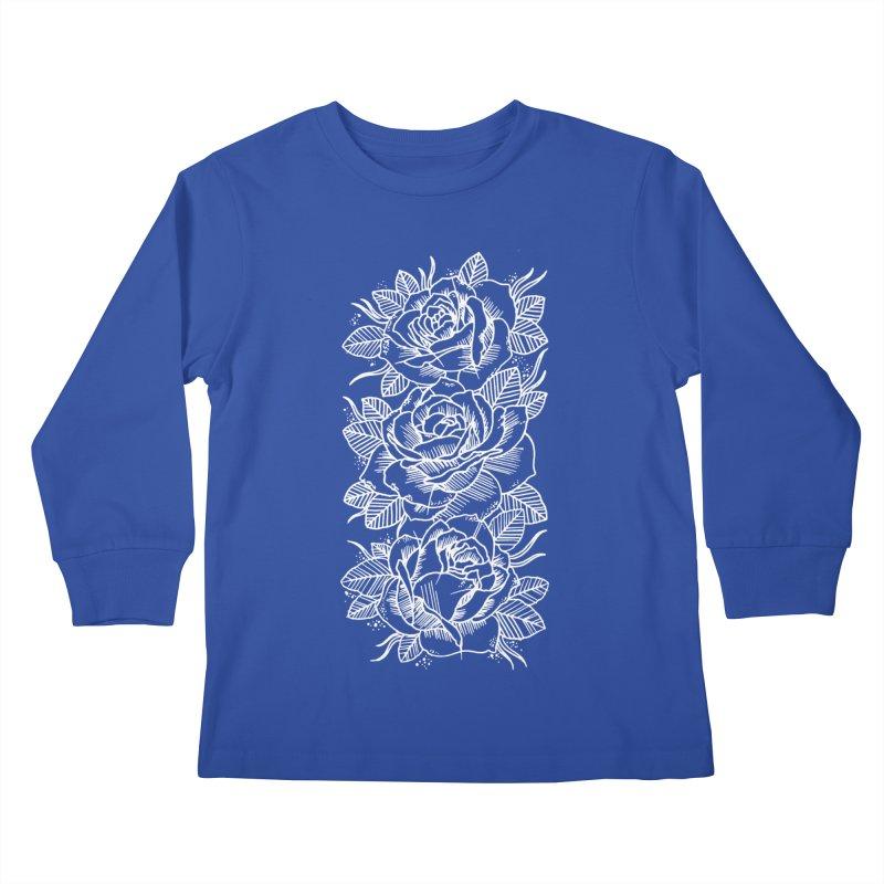 Negative Attitude Roses Kids Longsleeve T-Shirt by pesst's Artist Shop
