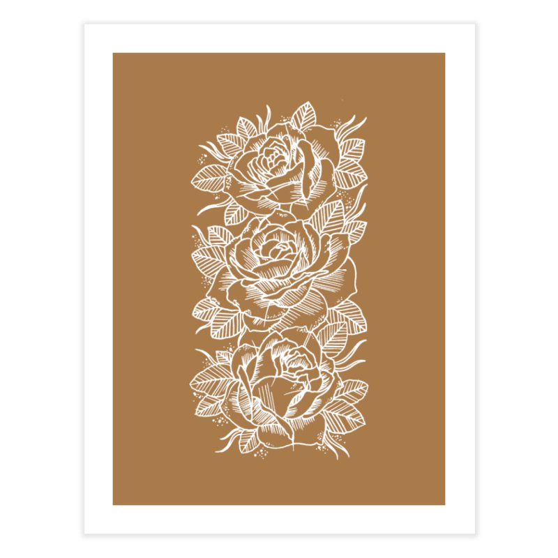 Negative Attitude Roses Home Fine Art Print by pesst's Artist Shop