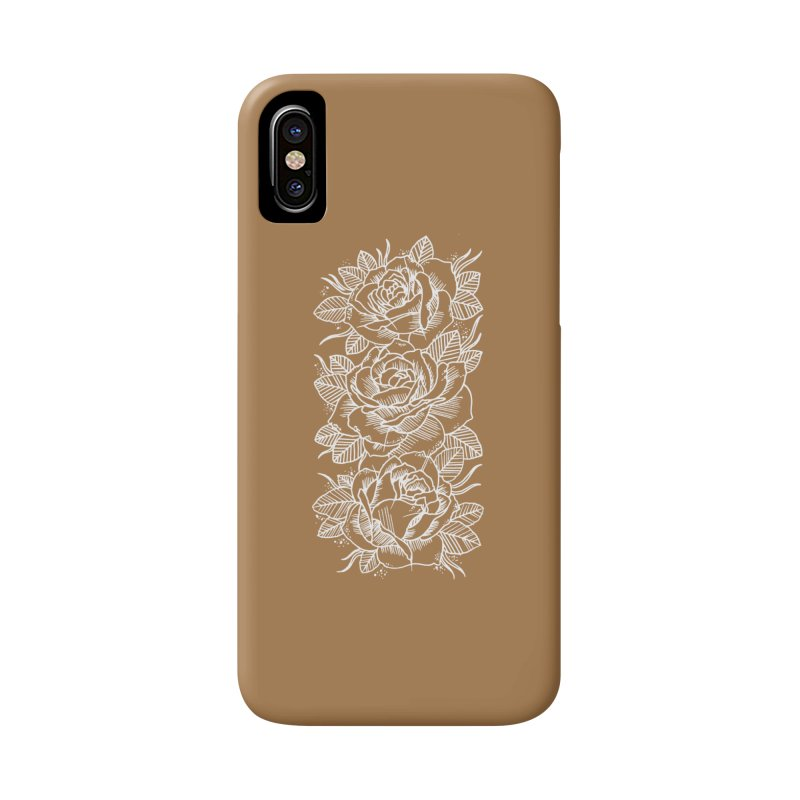 Negative Attitude Roses Accessories Phone Case by pesst's Artist Shop
