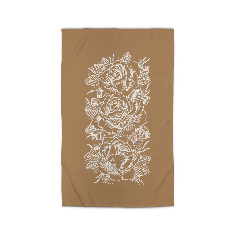 Negative Attitude Roses Home Rug by pesst's Artist Shop