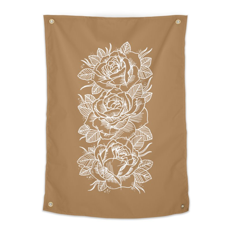 Negative Attitude Roses Home Tapestry by pesst's Artist Shop
